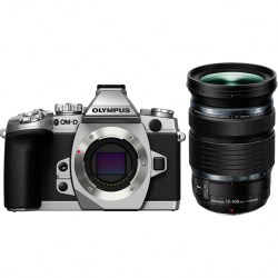 OLYMPUS Цифровой фотоаппарат OM-D E-M1 Kit ( E-M1 Body silver + ED 12-100mm f/4 IS PRO ) + HLD-7