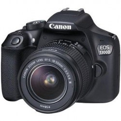 Зеркальный фотоаппарат Canon EOS 1300D 18-55 IS II kit