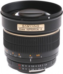 Samyang 85mm f/1.4 AS IF UMC AE