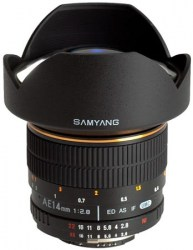 Samyang 14mm f/2.8 IF ED UMC Aspherical для Nikon